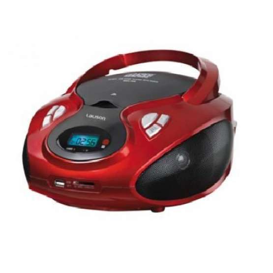Radio CD LAUSON CP429 Rojo