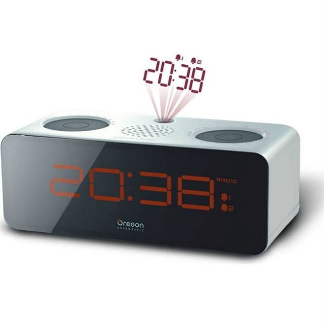 Radio reloj despertador Oregon RRA320PN