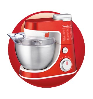 Casas cocinas mueble robots de cocina moulinex - Robot cocina masterchef ...