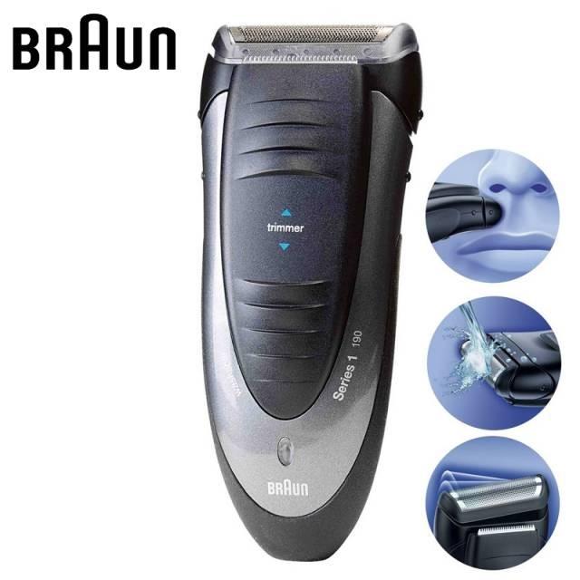 afeitadora braun serie 1 190 braun 190 serie 1. Black Bedroom Furniture Sets. Home Design Ideas