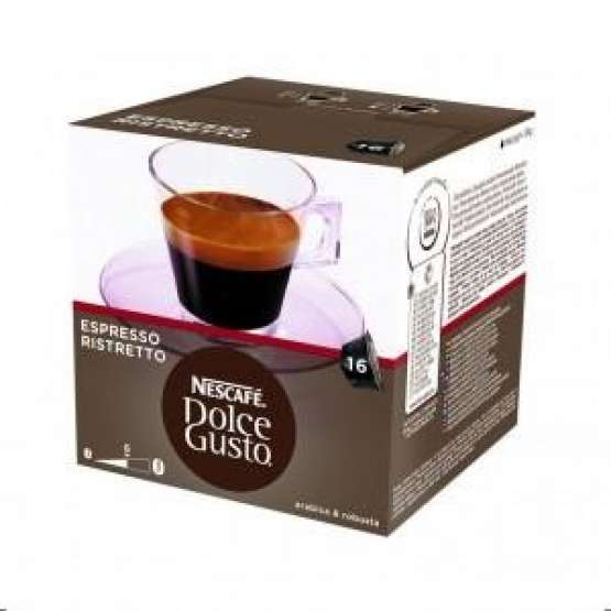 cafe ristretto dolce gusto pack 16 capsulas cafe ristretto dolce gusto electrodomesta. Black Bedroom Furniture Sets. Home Design Ideas