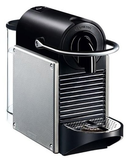 cafetera nespresso pixie steel comprar nespresso krups pixie electrodomesta. Black Bedroom Furniture Sets. Home Design Ideas