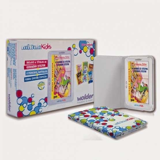 Ebook Infantil Wolder Kids  ebook 7 pulgadas kids