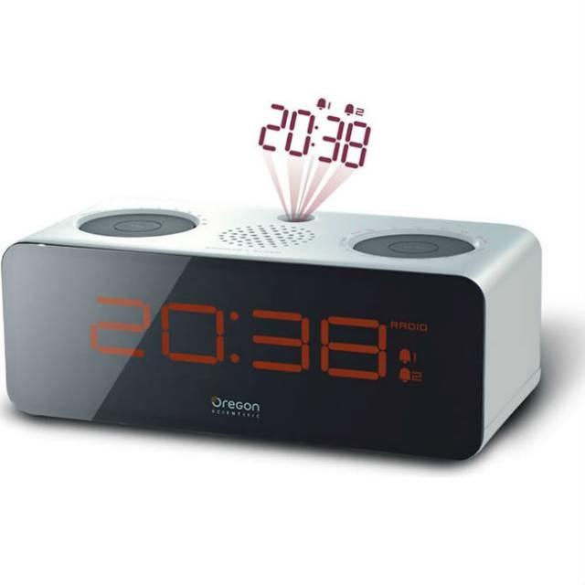 oregon rra 320pn despertador oregon blanco rra320pn despertador proyector. Black Bedroom Furniture Sets. Home Design Ideas