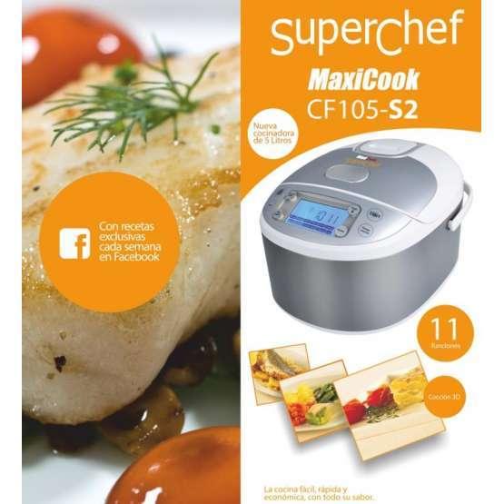 Robot cocina superchef maxicook cf 105s2 cf105 s2 maxicook electrodomesta - Robot de cocina superchef ...