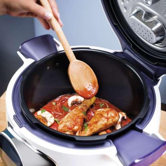 Moulinex cookeo robot de cocina moulinex cookeo ce701120 for Cocinar con cookeo