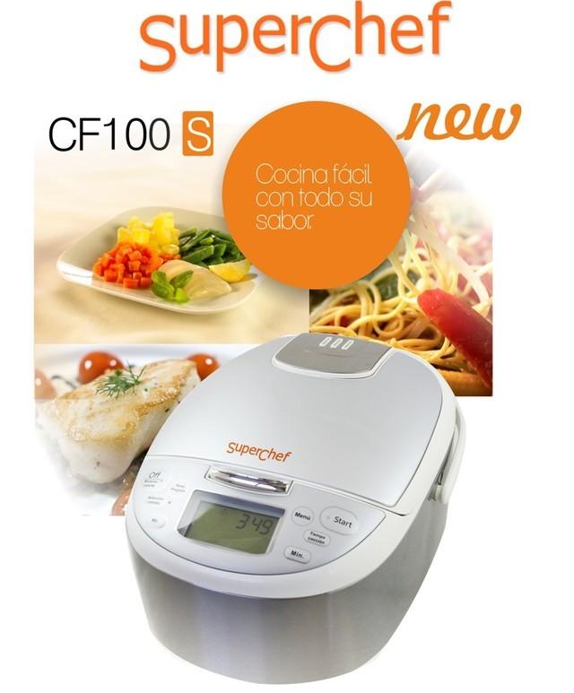 Superchef cf100s robot de cocina superchef multicooker comprar robot de cocina superchef cf - Robot de cocina superchef ...