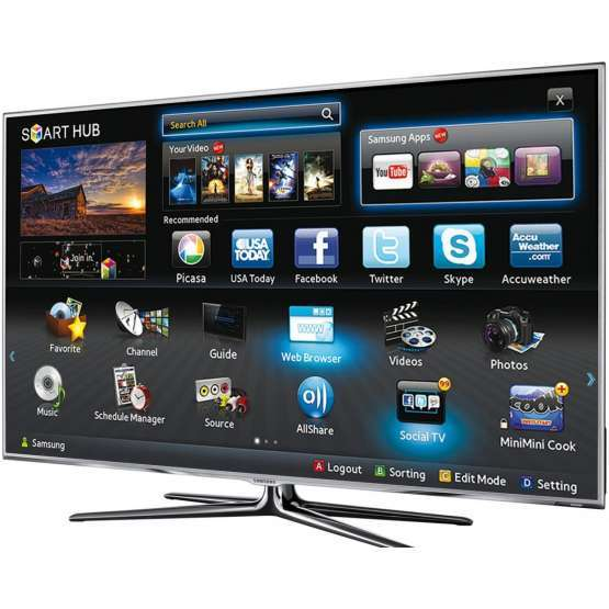 TV LED 3D Samsung UE40ES7000