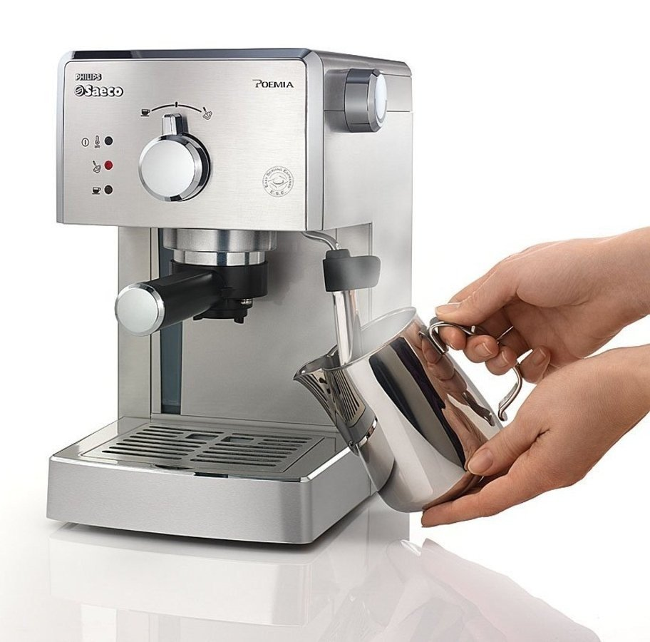 Cafetera Philips Saeco Poemia HD842711| cafetera expresso