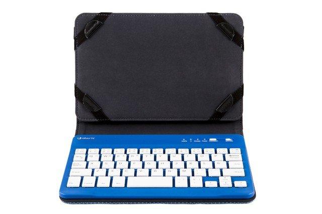 Funda universal gripcase con teclado 10 1 azul funda con teclado para tablet de 10 1 pulgadas - Funda universal tablet 10 1 ...
