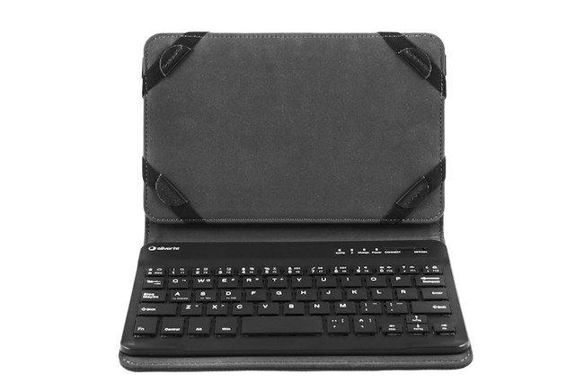 Funda universal gripcase con teclado 10 1 negra funda con teclado para tablet de 10 1 pulgadas - Funda universal tablet 10 1 ...