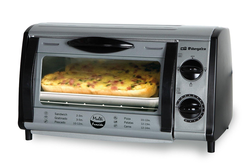 Mini horno orbegozo ho 810 a electrodomesta - El mejor horno de cocina ...