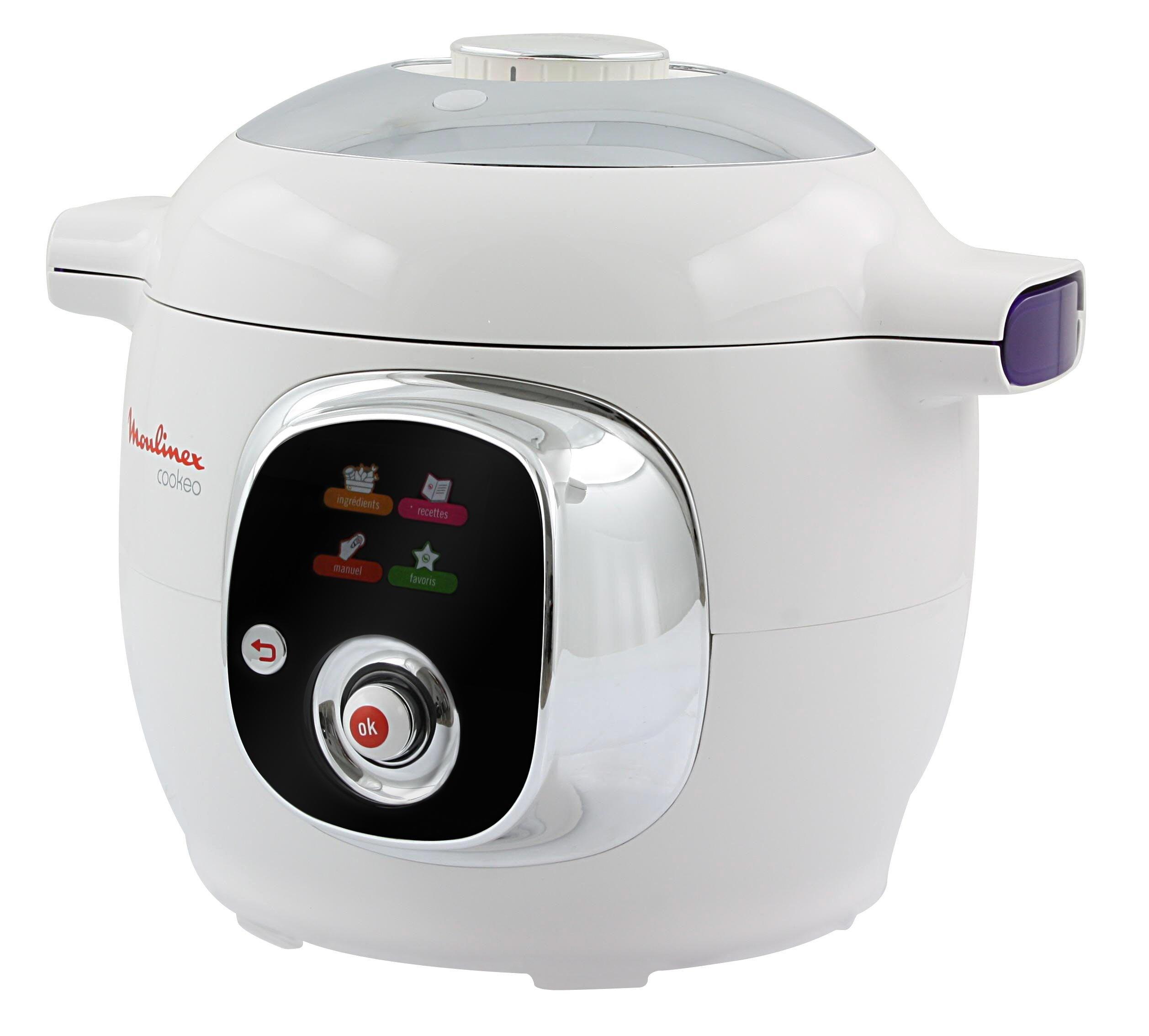 Robot cocina moulinex cookeo recetas