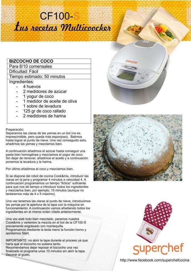 Robot de cocina superchef multicooker mi punto movil - Robot de cocina moulinex carrefour puntos ...