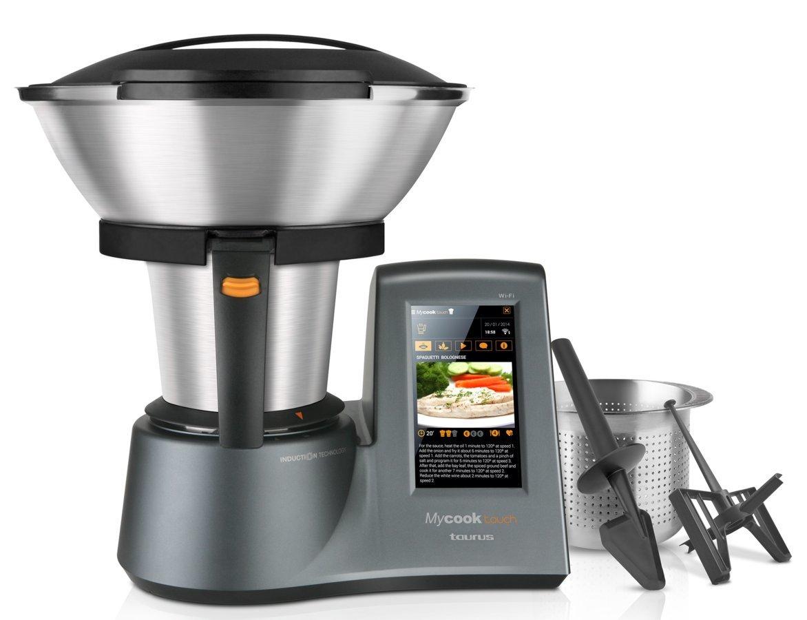 Taurus my cook touch robot taurus my cook touch for Robot de cocina inteligente