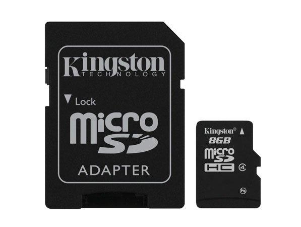 tarjeta de memoria 8gb kingston